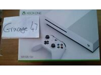 BRAND NEW XBOX ONE S 500GB PAL UK CONSOLE + 2 WEEKS XBOX LIVE TRIAL [ALSO SELLING ON EBAY]