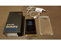 Samsung s7 edge 32gb gold like new with box and charger