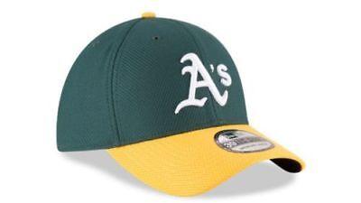Flex Fit Athletic Hat (Oakland Athletics New Era Green/Gold Diamond Era 39Thirty Flex Fit Game Hat NWT  )