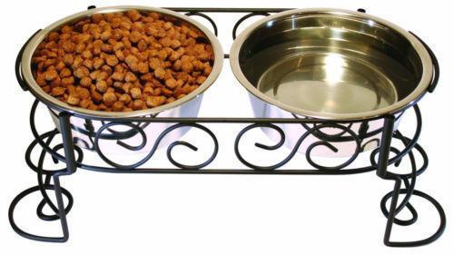 Raised Dog Food Bowls Ebay
