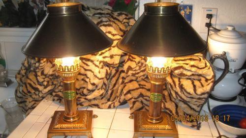 Vintage Brass Lamp Orient Express Ebay
