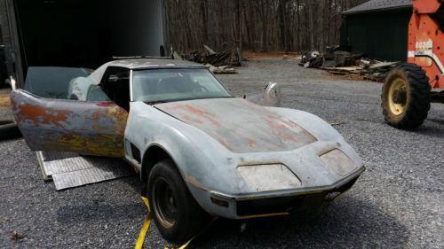 Corvette Project Cars For Sale >> Corvette Project Ebay