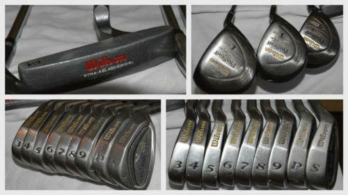 Used Ladies Golf Clubs >> Wilson Golf Clubs Prostaff Oversize | eBay