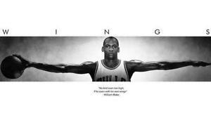 Michael Jordan Giant Poster