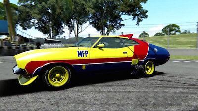 Mad Max Ford Falcon XB V8 MFP Interceptor POSTER