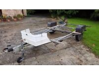 Braked Alko Chassis - from a Conway - perfect for quad/motocross/tear drop etc