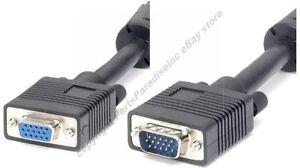 100ft-long-SVGA-VGA-Male-Female-Extension-Monitor-Video-Cable-Cord-SHdi-4xShield