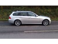 BMW 330D TOURING MANUAL SERVICE HISTORY ESTATE