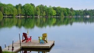 Private Lakefront Cottage for Rent Available  for OFF Season