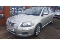 2007 TOYOTA AVENSIS 2.0 T3 S 6 SPEED DIESEL ESTATE ~ GPS ~ NEW TYRES PADS & DISCS ~ SERVICE HISTORY