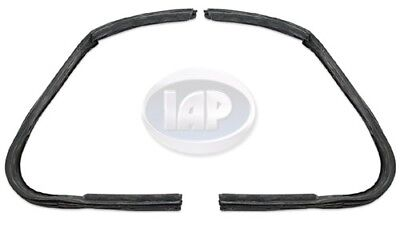 Right Vent Glass Seal (VW Bug Vent Glass Window Seal Set PAIR Left & Right 111837626 625 1952-64)