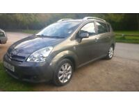 2005 (55) Toyota Corolla Verso 2.0 D4D TSpirit - 1 Owner FSH + May 2019 MOT- 7 Leather Seats, DVDs