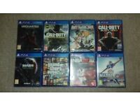 Ps4 Games Bundle 8 Games 3 NEW UN OPENED