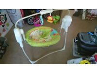 Fisher Price Rainforest Spacesaver Swing