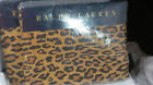 Ralph Lauren Animal Print Twin Flat Sheets