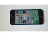 Apple iphone 5C in Blue - 16GB - Unlocked
