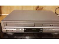 bush dvd vhs combi with remote excellent condition