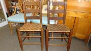 Old Wooden Chairs
