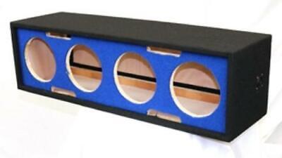 Deejay Led D10H4BLUESIDE For 10-in Four Horn Side Blue Speaker Enclosure