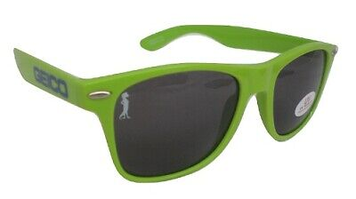 Geico sunglasses Bright Green with lizard (Lizard With Sunglasses)