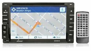 "6.5"" Double DIN In-Dash Reciever with GPS NAVIGATION + Bluetooth"