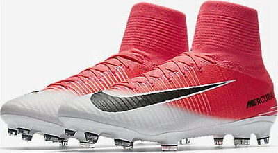 Nike Mercurial Superfly V DF FG ACC Soccer Cleats Mens Pink 831940-601 Size 6-13