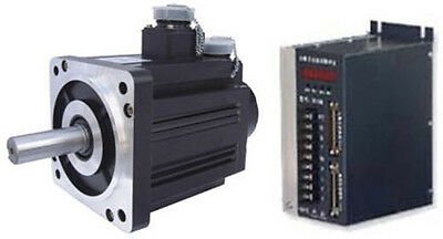 New Ac Servo Motordrive Compete Set 1.2kw 4nm 3000rpm