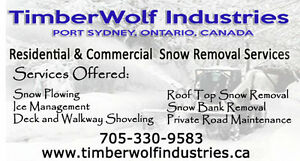 Muskoka Snow Removal Services