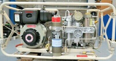 Bauer Compressor Dv Unit 170hr. Tested And Certify. Tier 3 Engine Epa Compliance