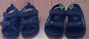 Baby Boy Sandals (Size 5) -x2- **like new, mint condition!**