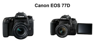 BRAND NEW CANON EOS 77D WITH 18-135MM LENS KIT
