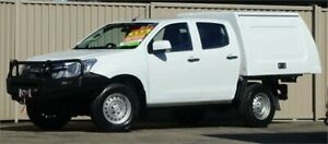 2016 Isuzu D-MAX TF MY15.5 SX (4x4) White 5 Speed Manual Crew Cab Chassis Lismore Lismore Area Preview