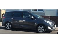 Renault 1.6 Diesel Grand Scenic 7 seater with towbar, boot protector and spare wheel.