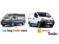 Wanted All broken Vauxhall vivaros, Renault trafics, Nissan primastars for cash