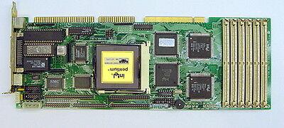 Industrial Pc Pca-6156 Pentium Cpu Card Rev.a 1 Sbc Single Board Computer