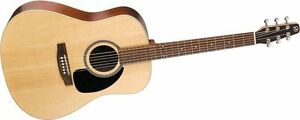 Seagull acoustic guitar (dreadnought)