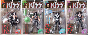 McFarlane KISS Figures with Letters