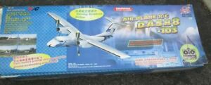 Remote controlled airplane Dash-8 twin motor