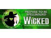 2 tickets for Wicked