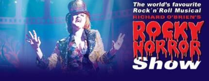 2 x tickets - Premium seats - Rocky Horror Show Brisbane