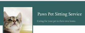 Paws Pet Sitting Service - Pet sitter