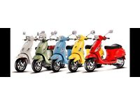All Vespa wanted all conditions all models all years