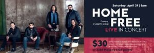 LOOKING FOR HOME FREE TICKETS