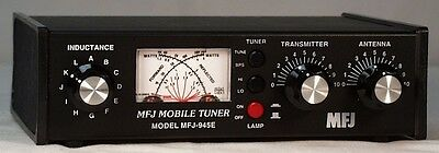 MFJ 945E 1.8-60 MHz 300watts manual antenna tuner  ATU  945 E