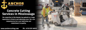 Concrete Cutting Services Mississauga - anchorcutting.COM