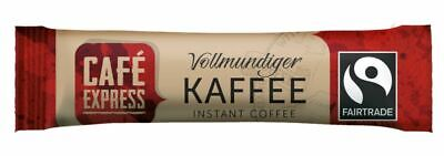 500 Stück Instantkaffee Café Express Kaffeesticks Fairtrade Kaffee Sticks Insant