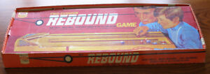 Vintage 1971 Two Cushion Rebound Game by Ideal.