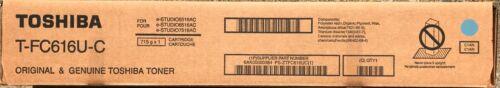 Genuine Toshiba T-FC616U-C CYAN TONER  for eStudio 5516AC/6516AC/7516AC