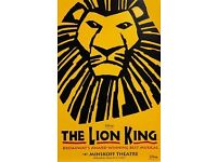 3 Top 'Disney's Lion King' tickets