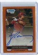 2012 Bowman Chrome Prospect Auto